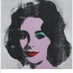 """Silver Liz""  Andy Warhol"