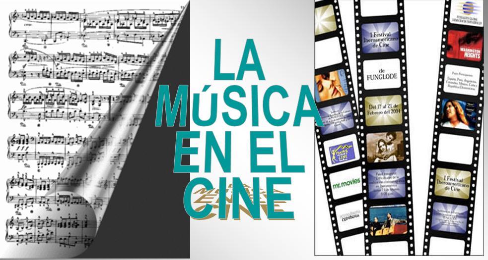 Resultado de imagen de musica y cine imagen