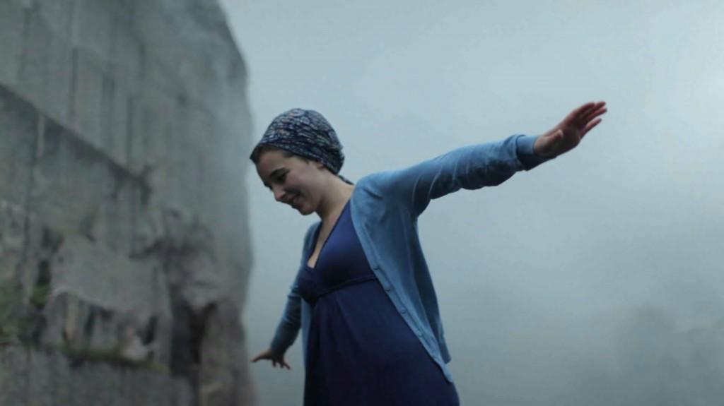 Fotograma de la película Bertsolari, tomado en la Cantera de Aldatz