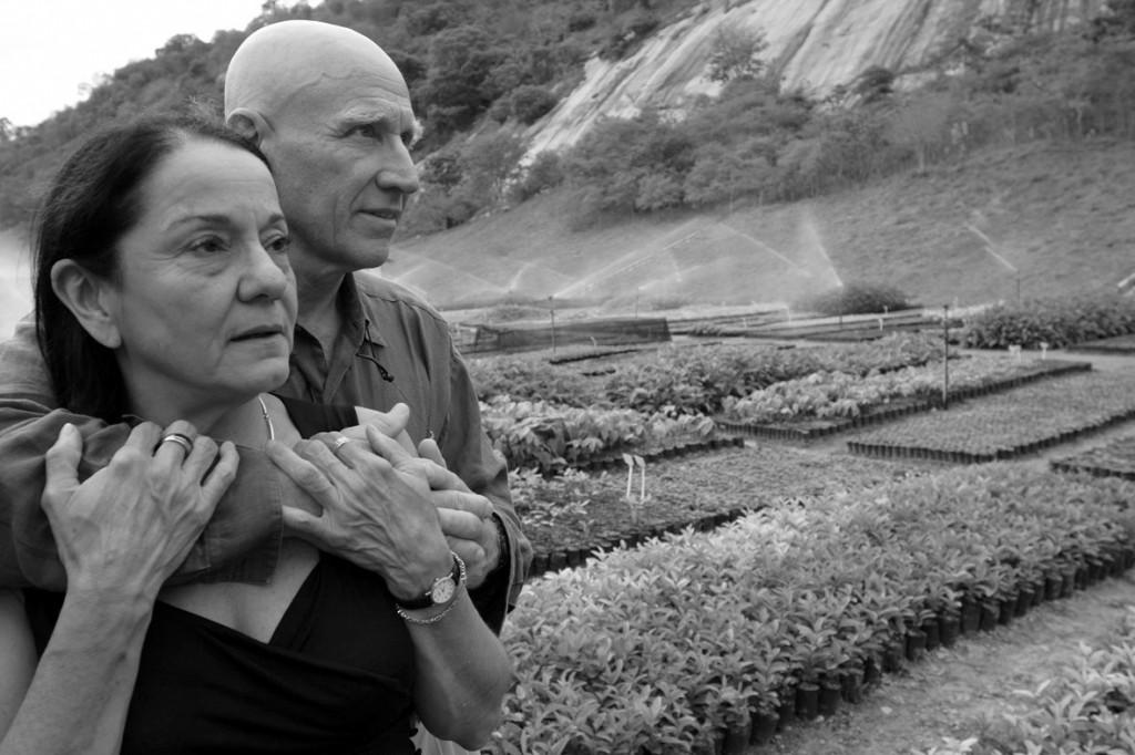 Lelia eta Sebastiao Salgado. Aymores. Minas Gerais. Brasil. 2006ko urrian
