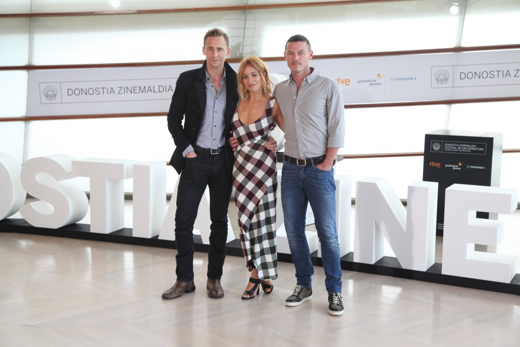 Sienna Miller&Tom Hiddleston&Luke Evans