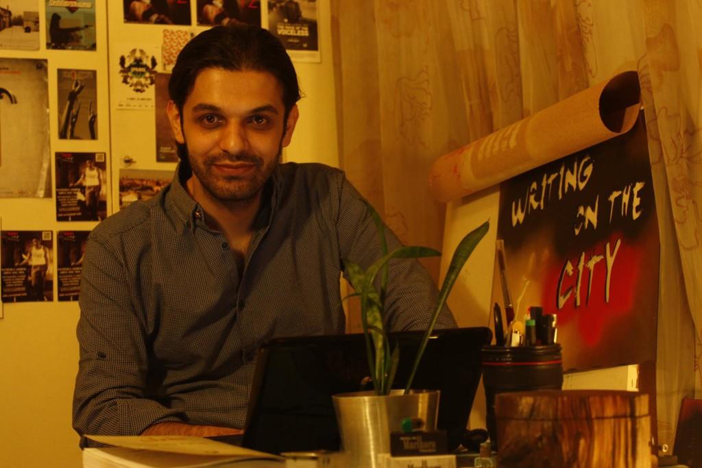 Keywan Karimi zuzendari iraniarra